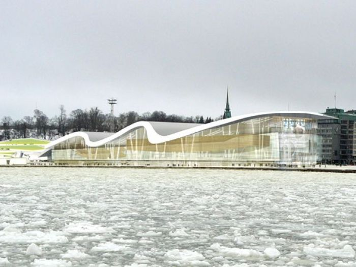 Archisio - Enzo Calabrese - Progetto Guggenheim museum helsinki