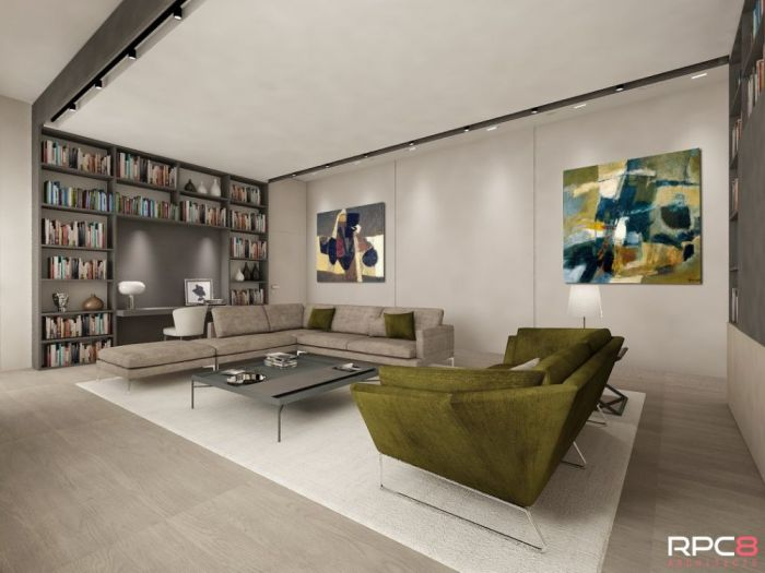 Archisio - Eleonora De Donatis - Progetto Rpc8 architect - privat apartment in parioli