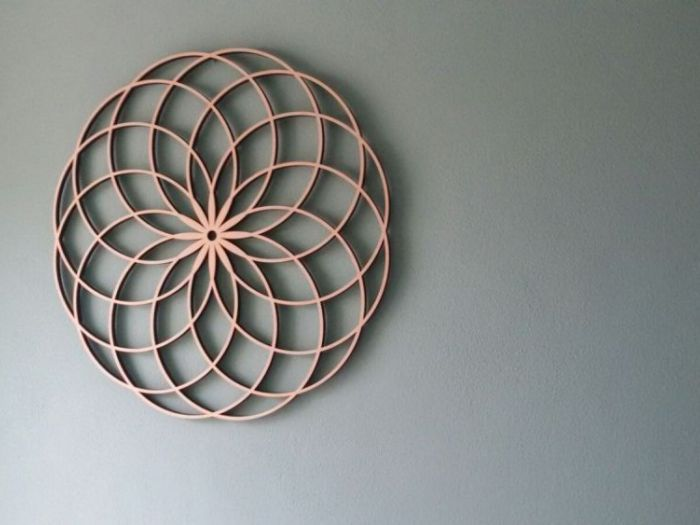 Archisio - Flowringcreations - Progetto Wall deco