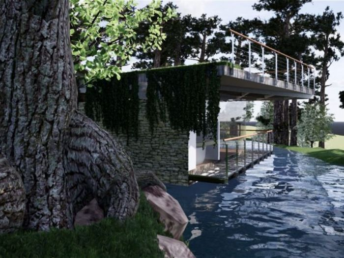 Archisio - St Studio - Progetto Woodland retreat