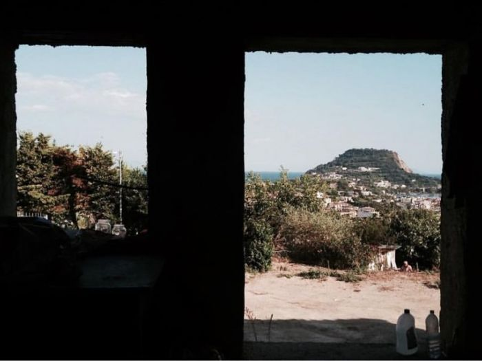 Archisio - Mario Imperato - Progetto Amazing view of capo miseno from a new villa in progress designed
