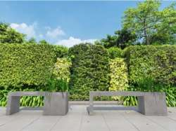 Archisio - D Materials - Progetto Regular bench-planter
