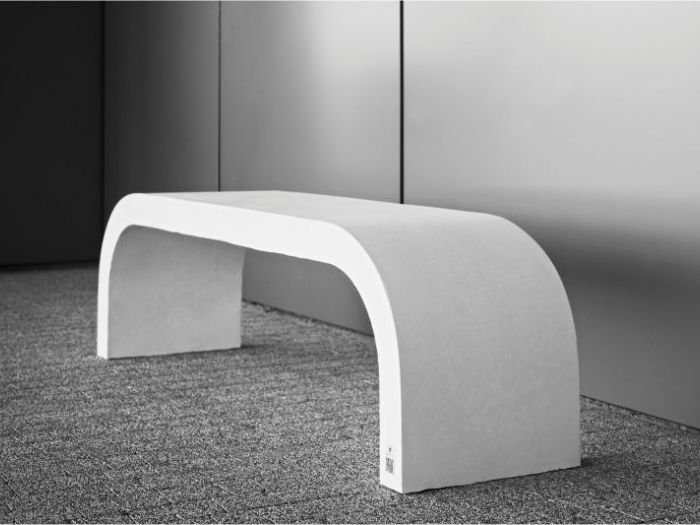 Archisio - D Materials - Progetto Harmony bench