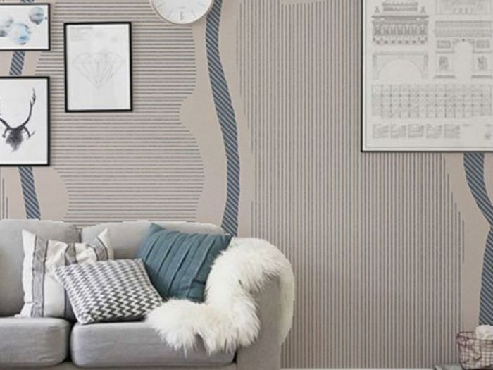 Archisio - 2b Arch - Progetto Wallcovering designs for inkiostro bianco