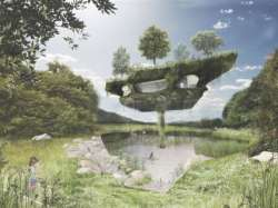 Archisio - Noa Network Of Architecture - Progetto Edersee from roots to crowns