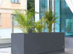 Archisio - D Materials - Progetto Regular planter with saucer