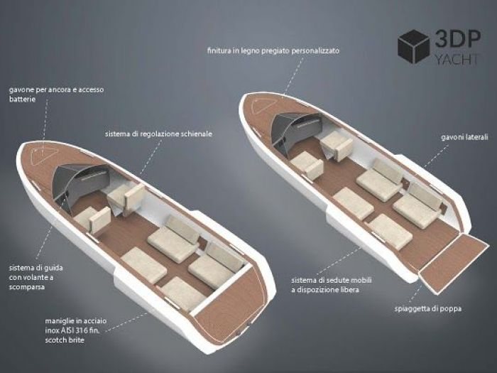 Archisio - Ary Lab - Progetto 3dp yacht