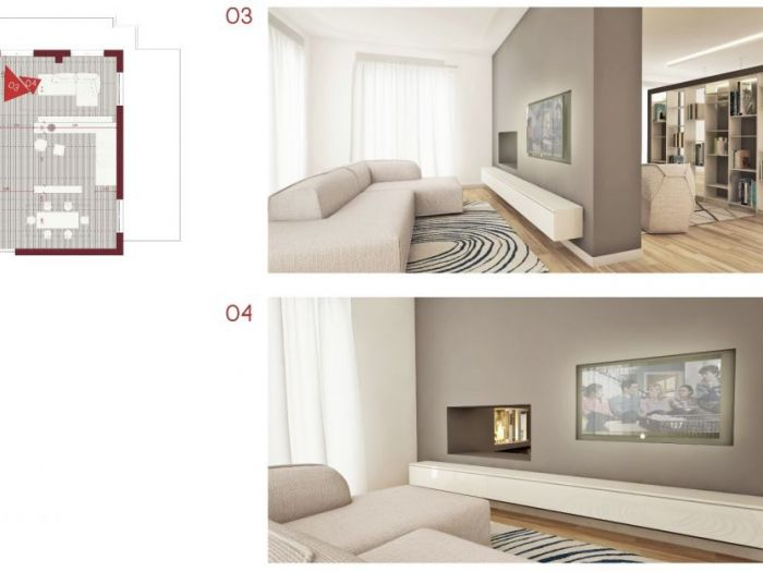 Archisio - Riccardo Serpelloni - Progetto Home sweet home