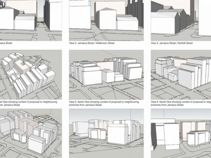Archisio - Ns Architect - Progetto Norfolk street