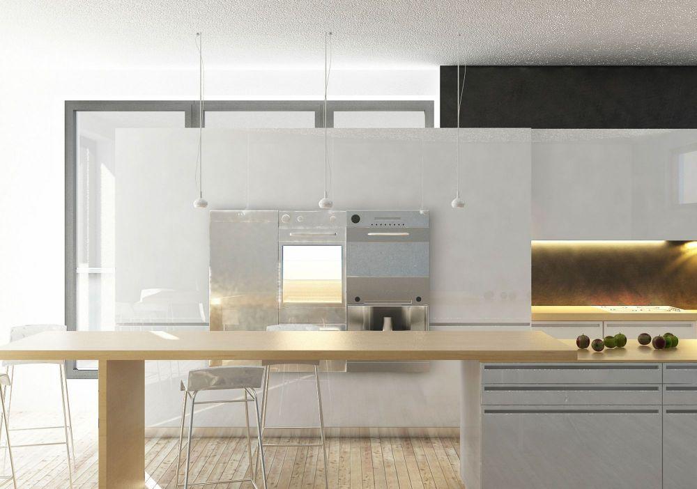Cucina Con Piano Snack Funzionale E Di Stile Archisio