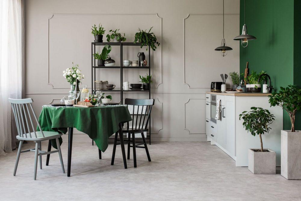 Arredare il living con un tavolo da pranzo rotondo | Archisio