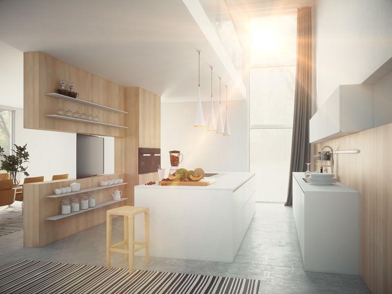 Mobili divisori soggiorno e cucina