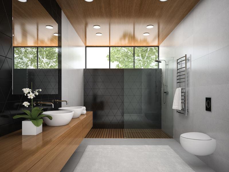 Piatto doccia: scegliere quello ideale tra 5 materiali