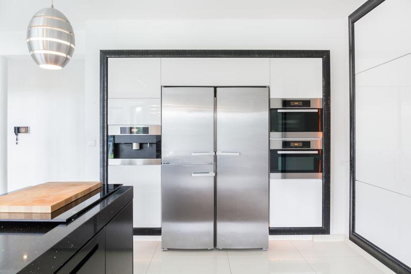 Frigorifero in cucina: idee, caratteristiche, dimensioni
