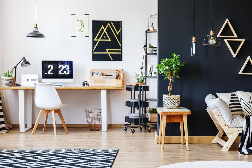 studio in salotto
