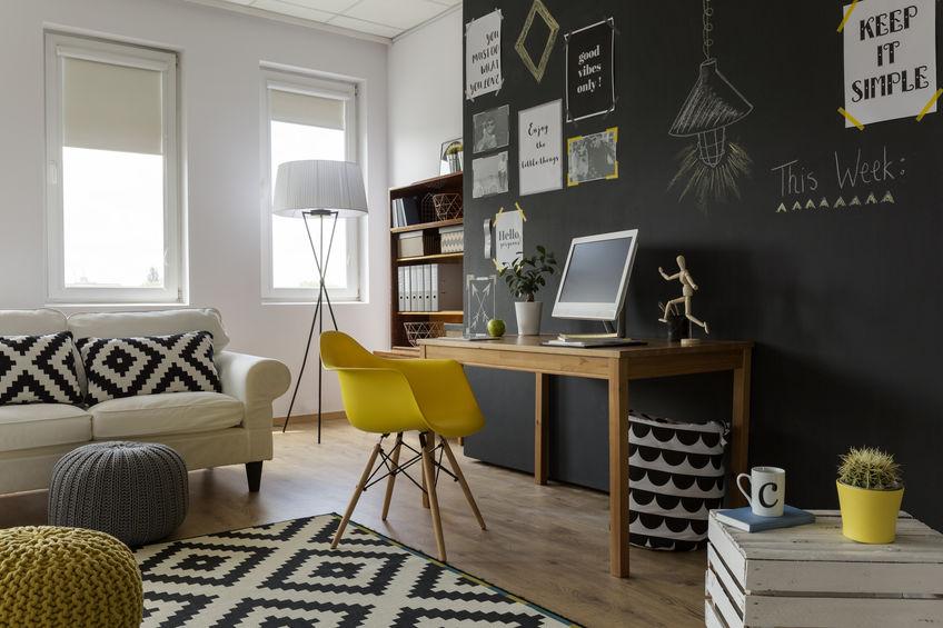 arredamento studio in casa
