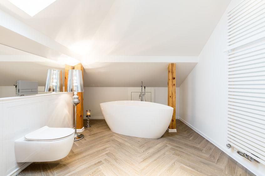 come progettare bagno in mansarda