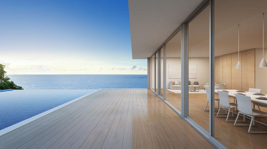finestre scorrevoli per terrazzi