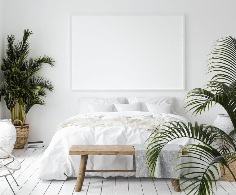 camera scandinava bianca