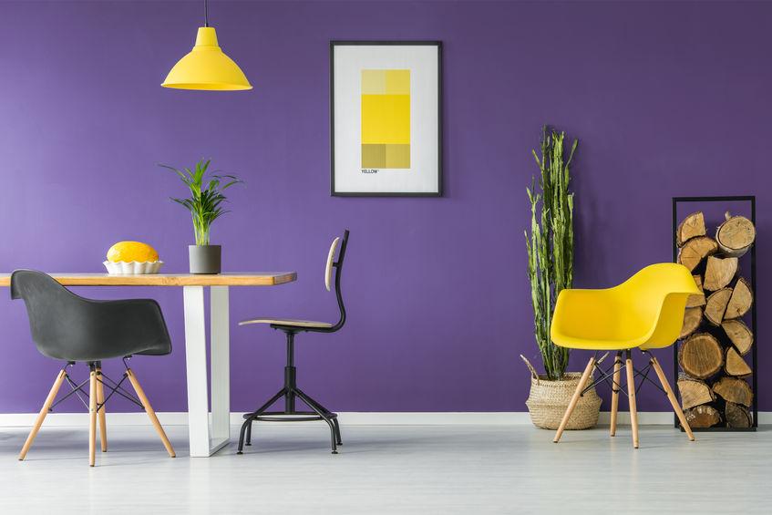 sedie design colorate