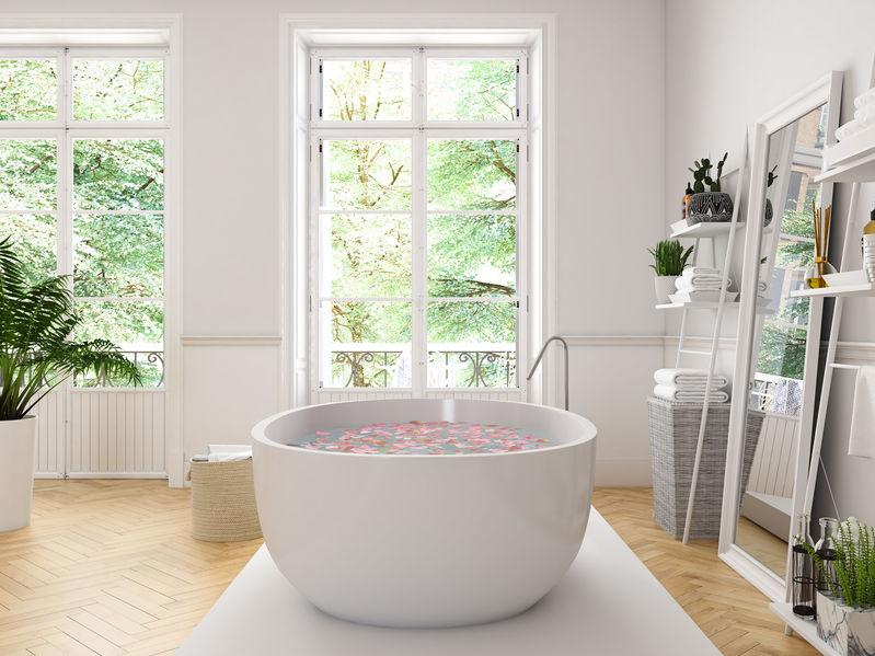 Vasca da bagno in ceramica