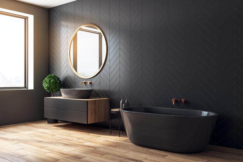 Vasca da bagno in pietra: elegante e raffinata