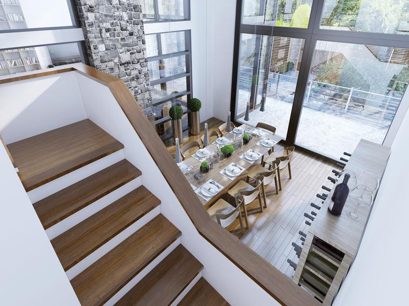 scale in muratura e legno