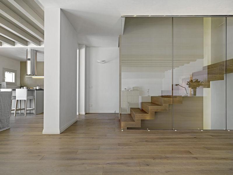 progetto scala moderna in legno