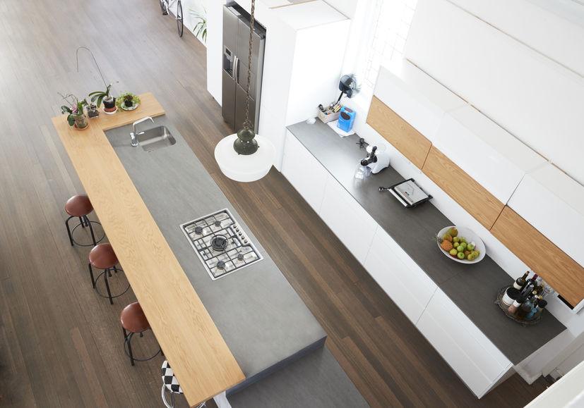 Idee per un pratico piano snack in cucina