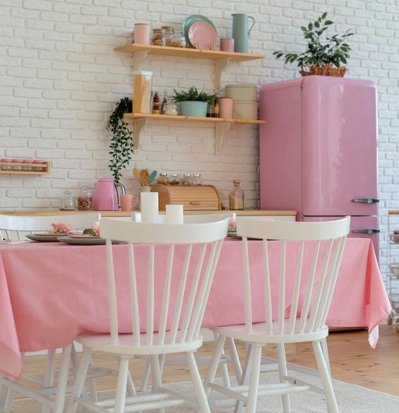 frigorifero rosa