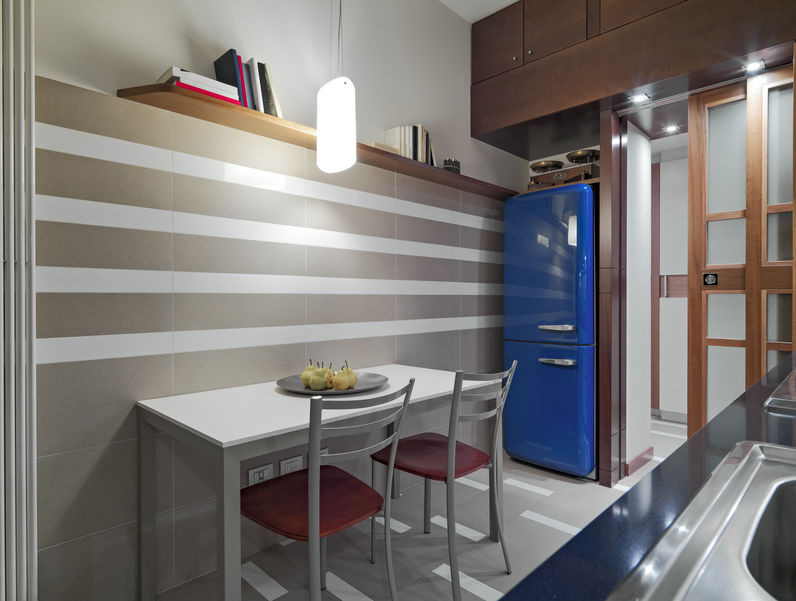frigorifero blu