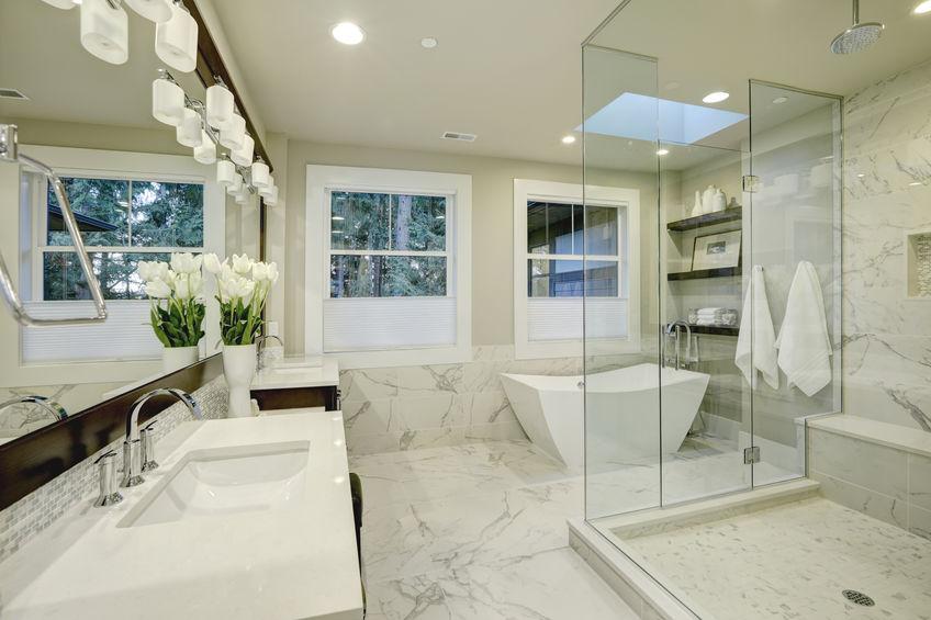 marmo di Carrara per il bagno