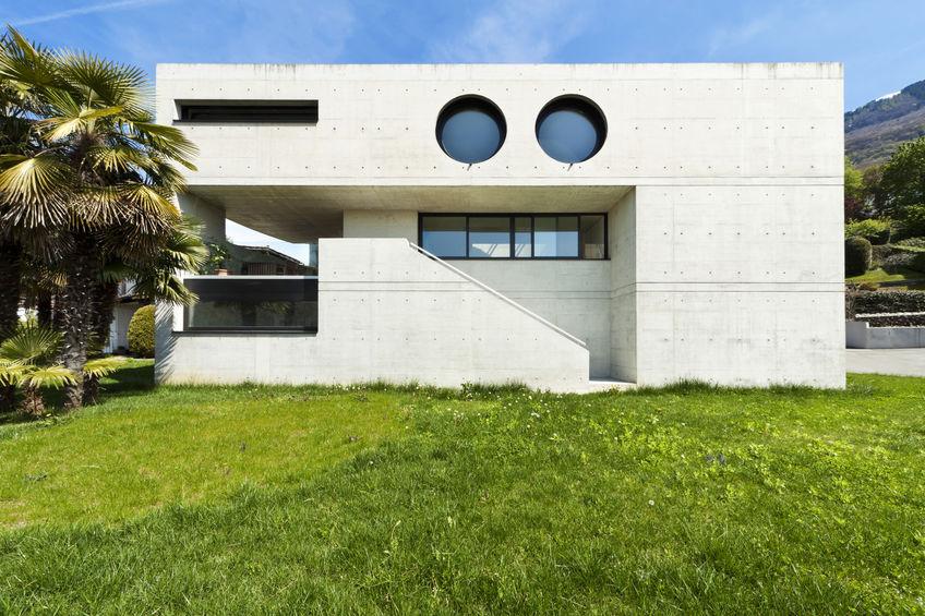 Villa moderna in cemento: un progetto da 10 e lode