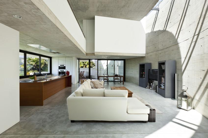 Living open space di tendenza