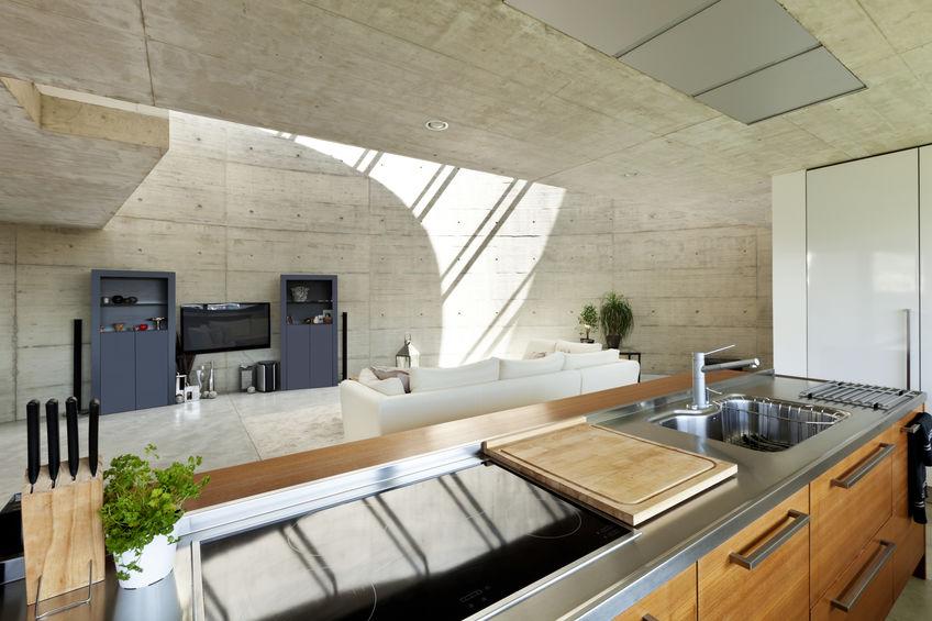 Cucina chic e di design