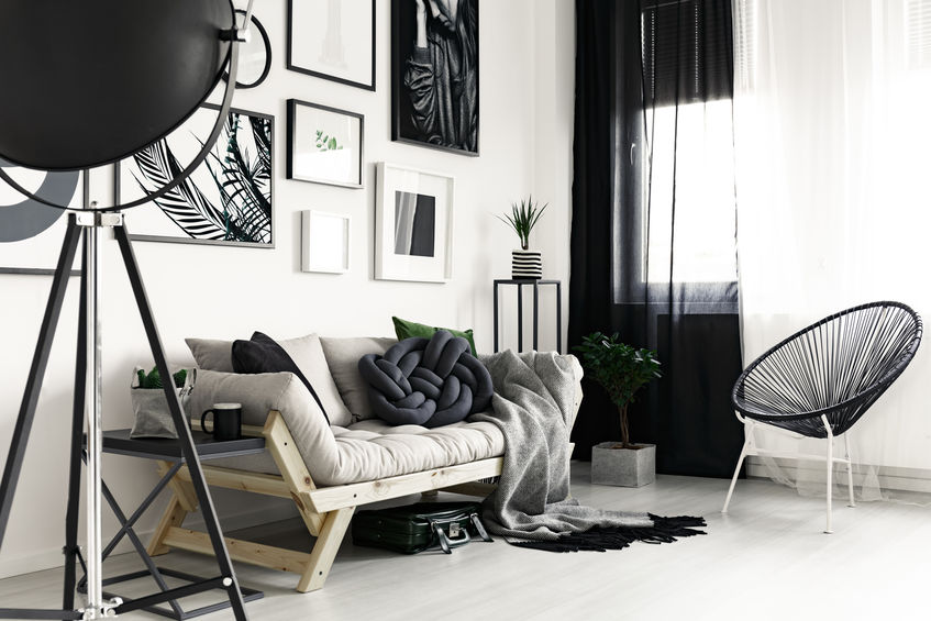 accessori casa bianchi e neri