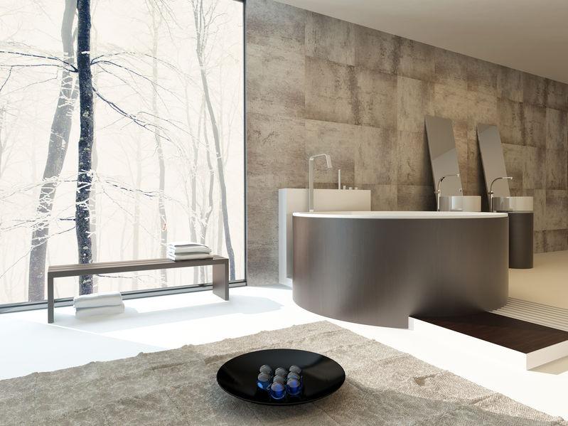 panca in bagno