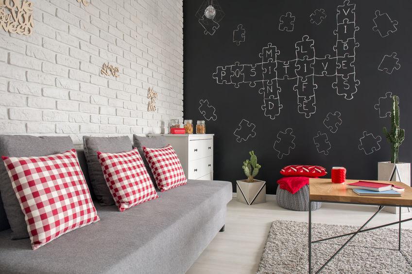 Idee particolari da realizzare in casa con una parete lavagna
