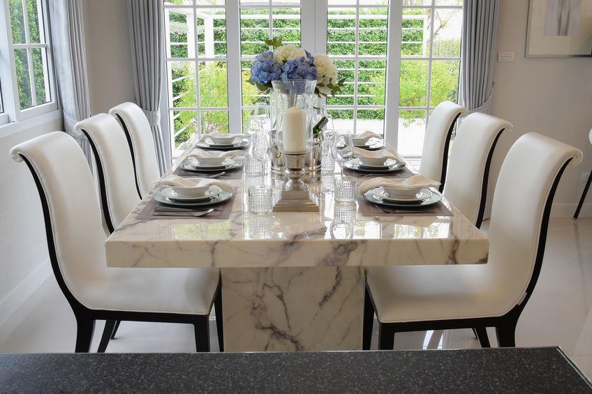 Tavolo da pranzo in marmo