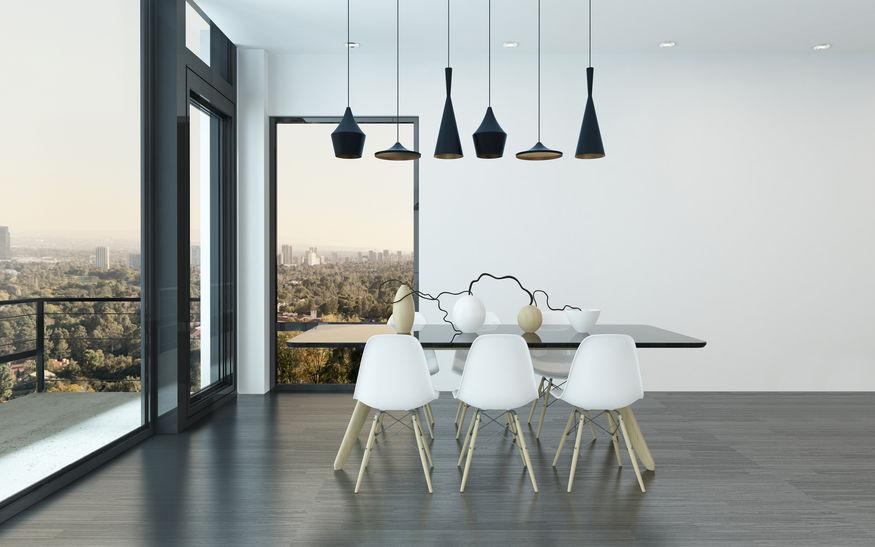 Tavolo da pranzo innovativo in fenix