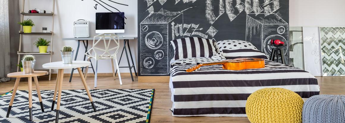 arredamento camera da letto per ragazzo
