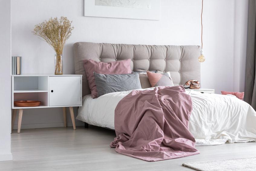 biancheria letto rosa