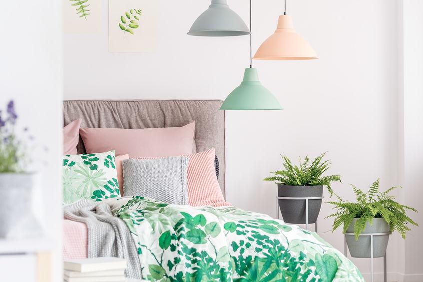 lampade a sospensione colorate
