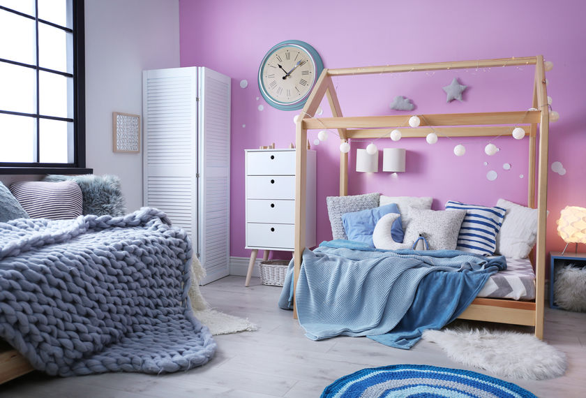 Letto Montessori in materiale ecosostenibile