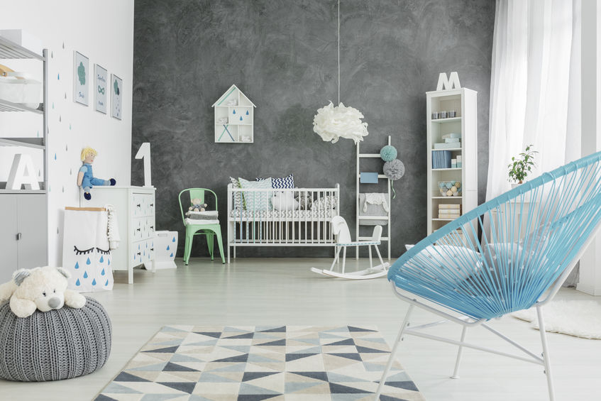 Camera di un bimbo: come arredarla