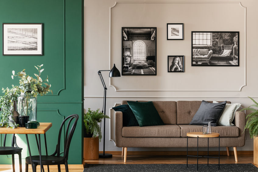 Arredare casa in verde bosco: una tonalità particolare