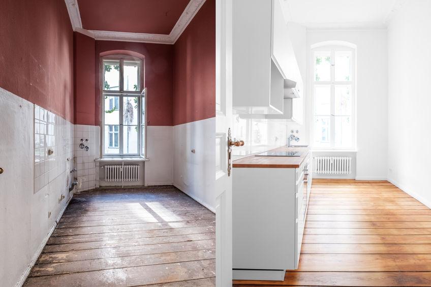 ristrutturazione cucina prima e dopo