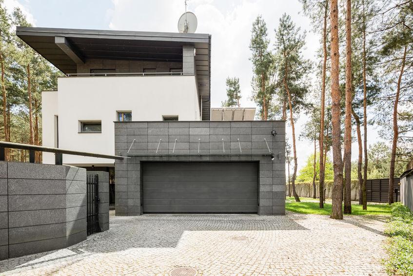 garage esterno in muratura
