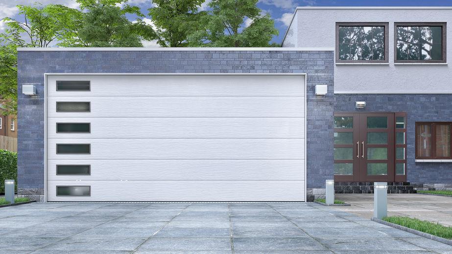 installazione porta automatica garage