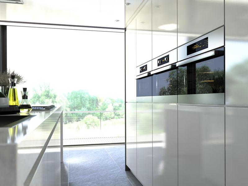 Cucina con forno elettrico multifunzione